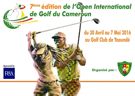 7e edition de l'open international de golf du camerroun